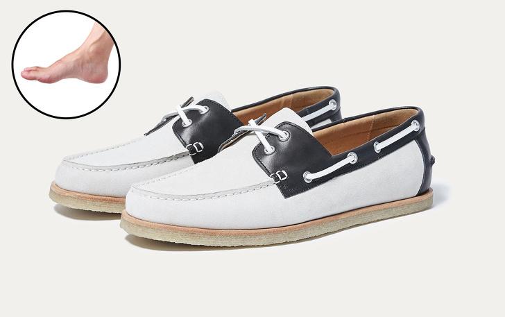У цьому взутті є характерна особливість від мокасинів – кругова шнурівка  навколо п яти e708c1b236537